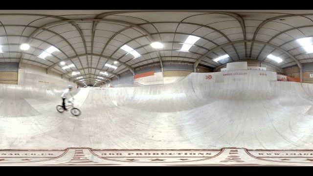 360 BMX demo for Troy Hayward at Adrenaline Alley