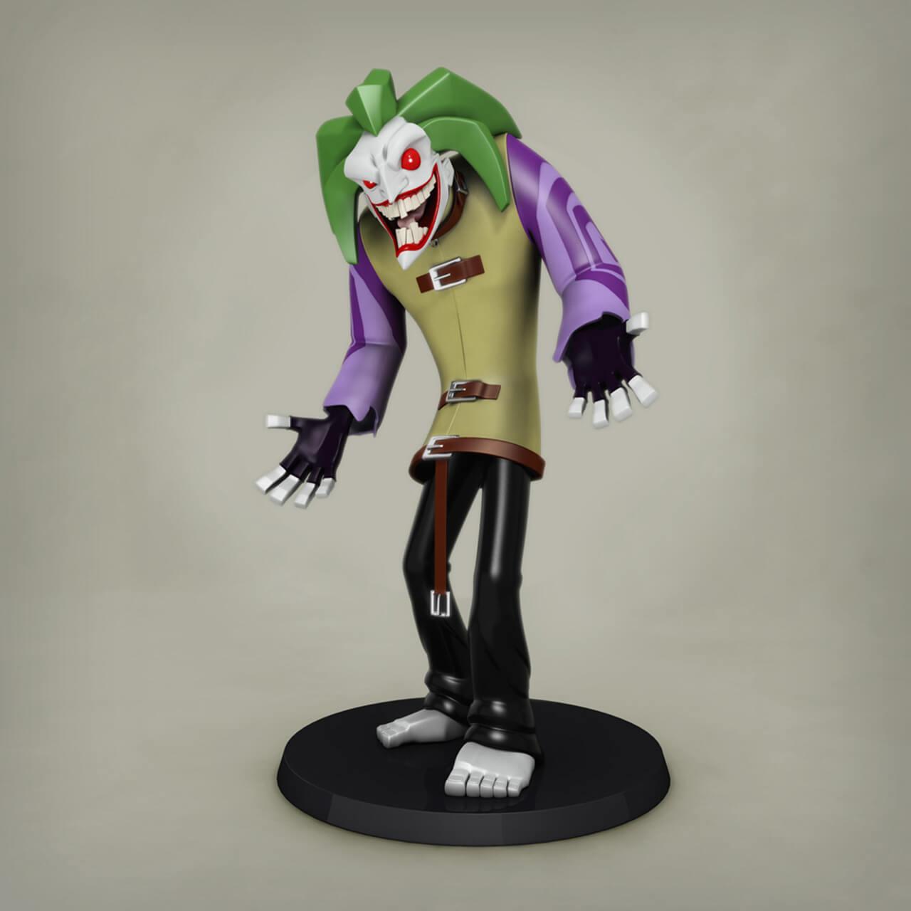 Image of joker converted using ImgCvt