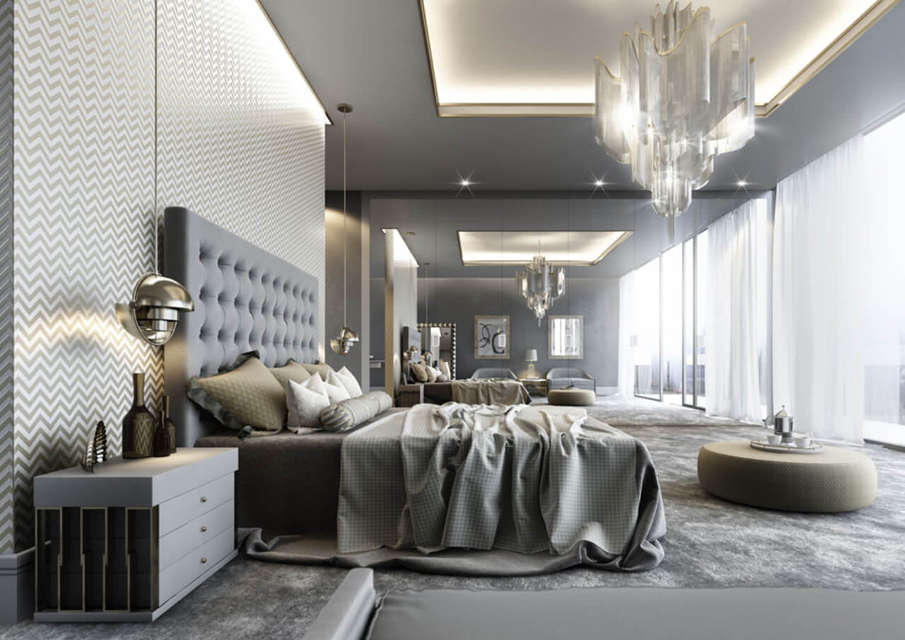 Luxury Master Bedroom Cgi Imaginar