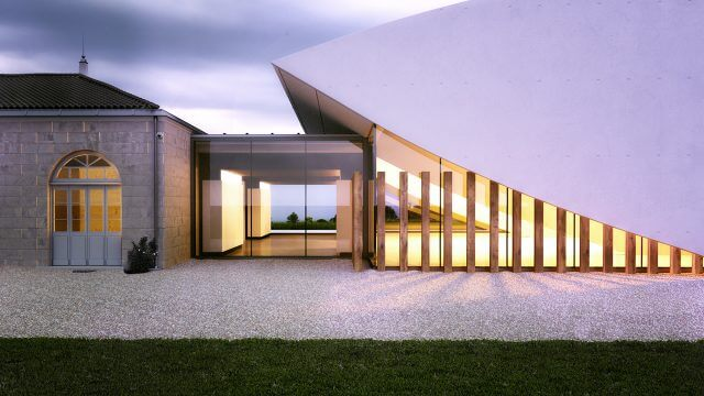 Computer Generated Rendered Image Modern Exterior