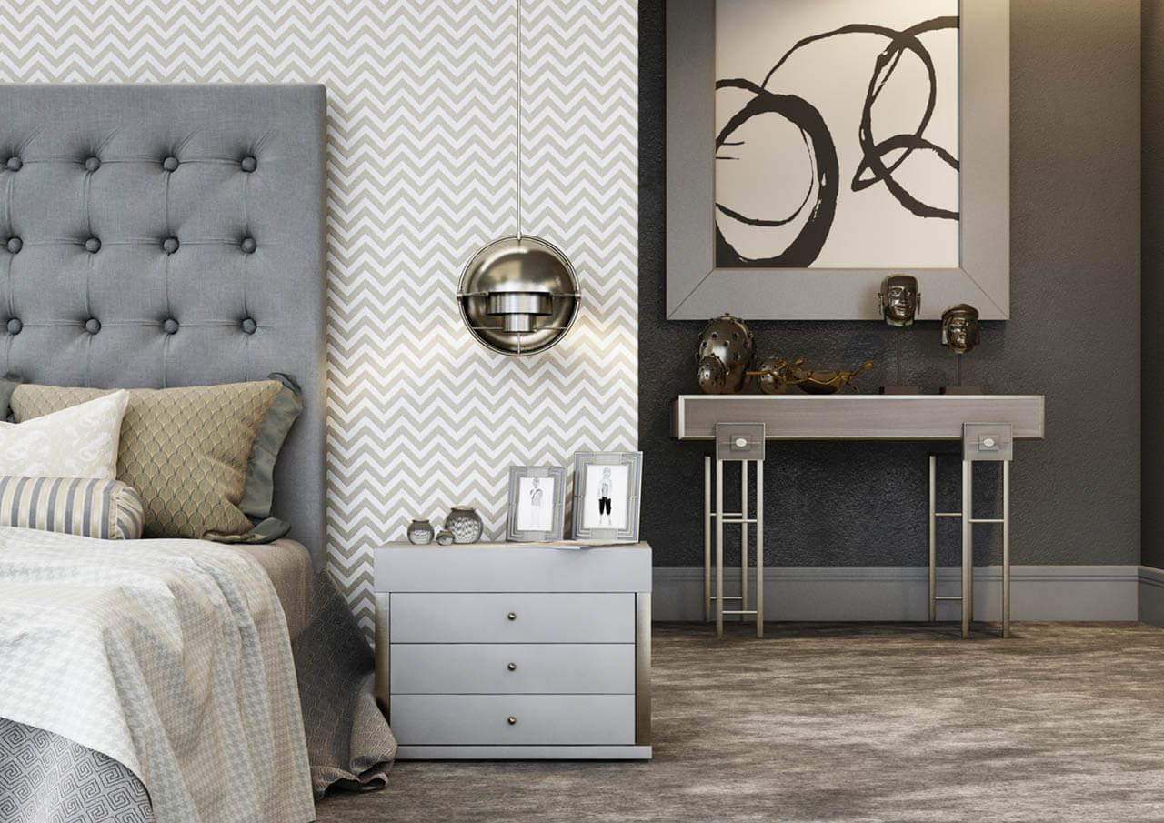 CGI Render Bedroom Furniture