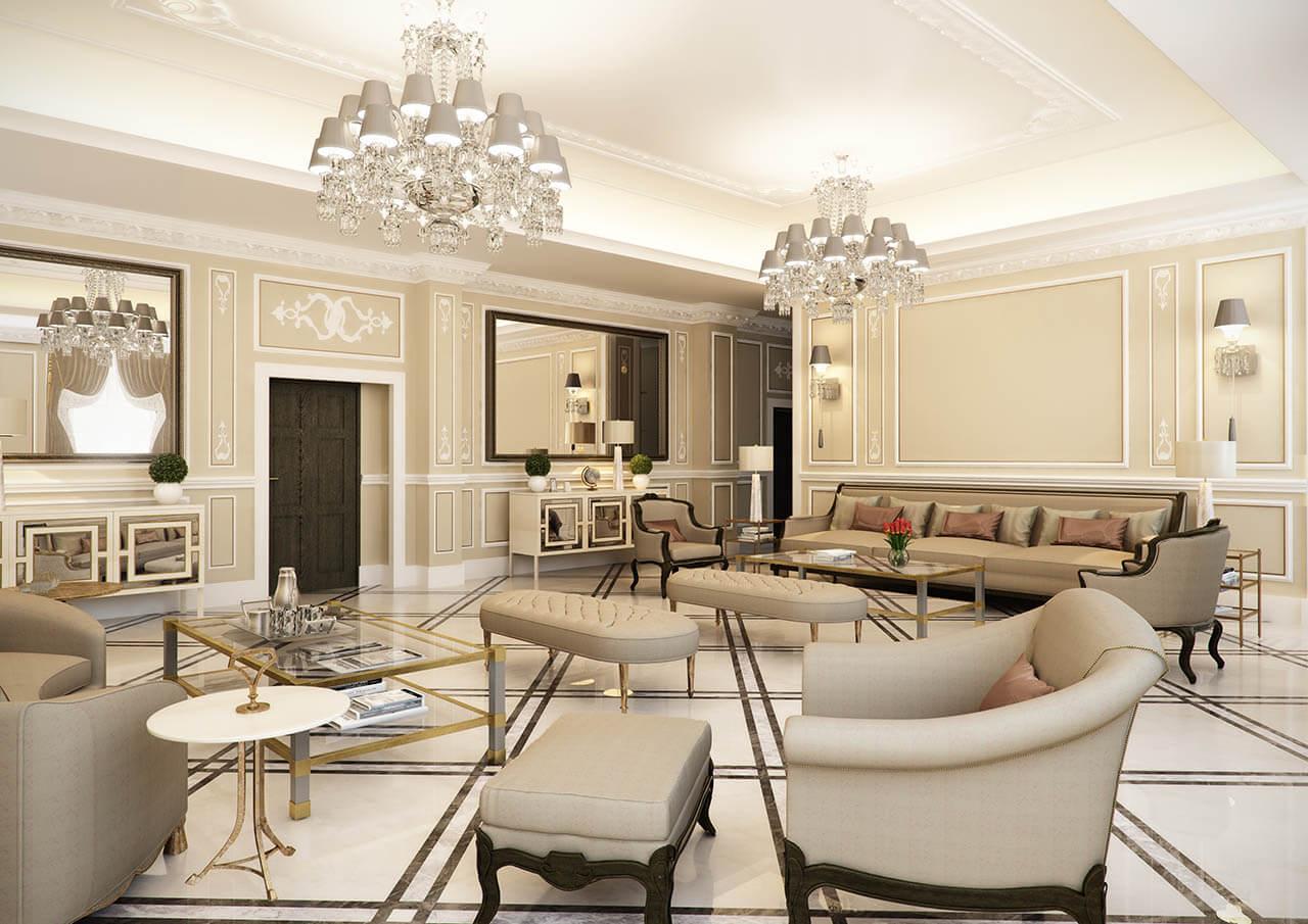 Elegant CG Rendered Apartment