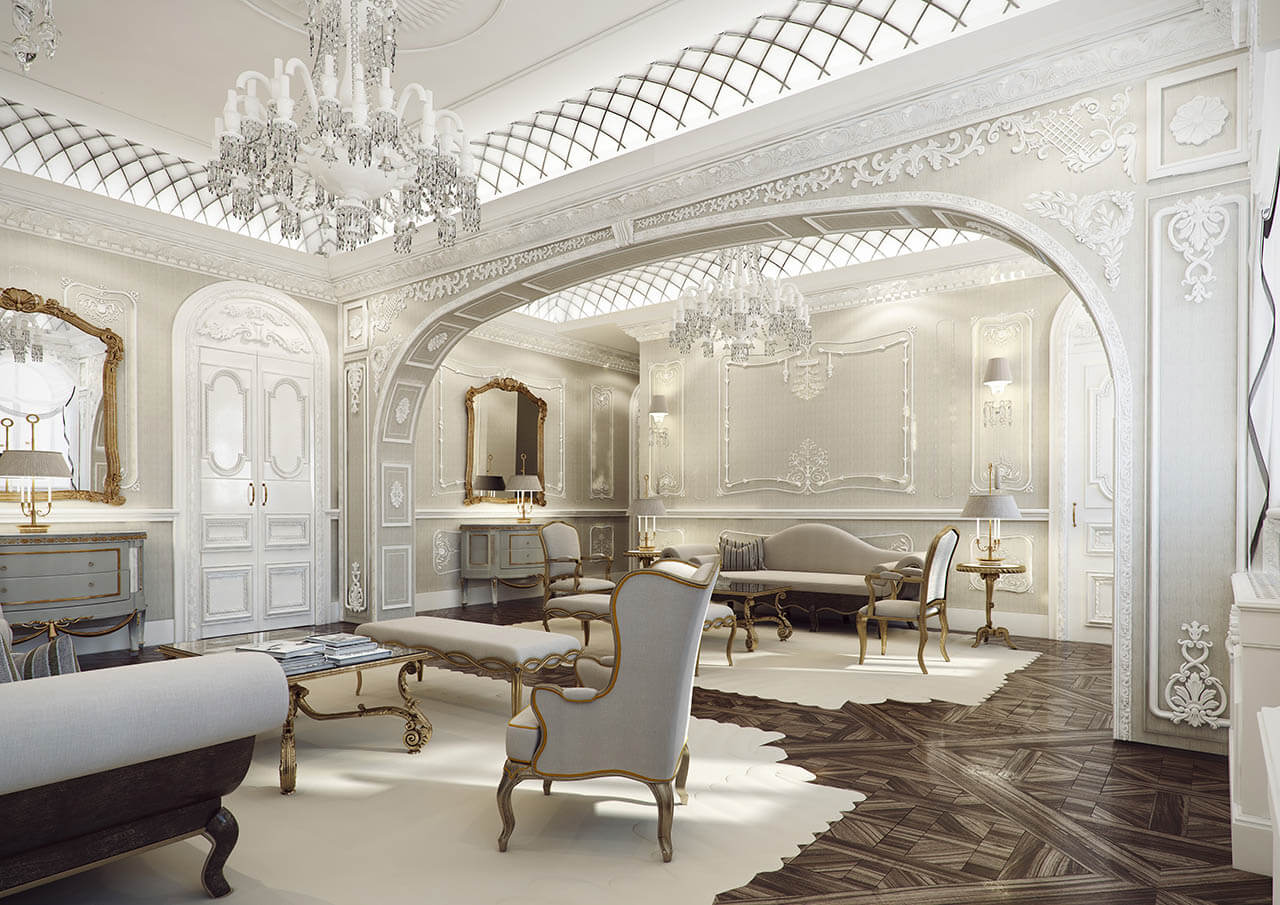 Luxurious CG Rendered Apartment with elaborate Detail