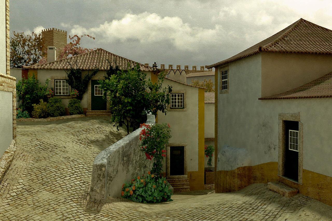 Historic Portugal Street