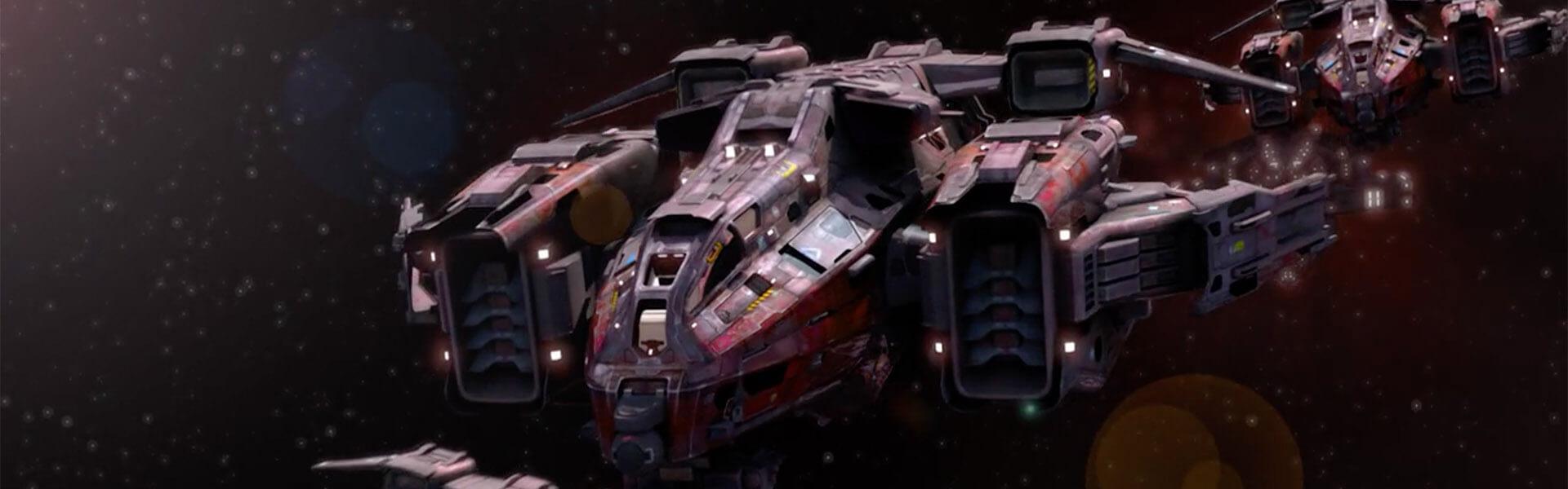 CGI Spaceship Image