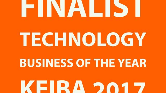 Finalist technology business of the year KEIBA 2017