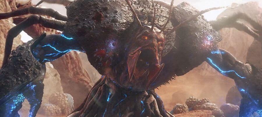 VFX Showreel Image of alien