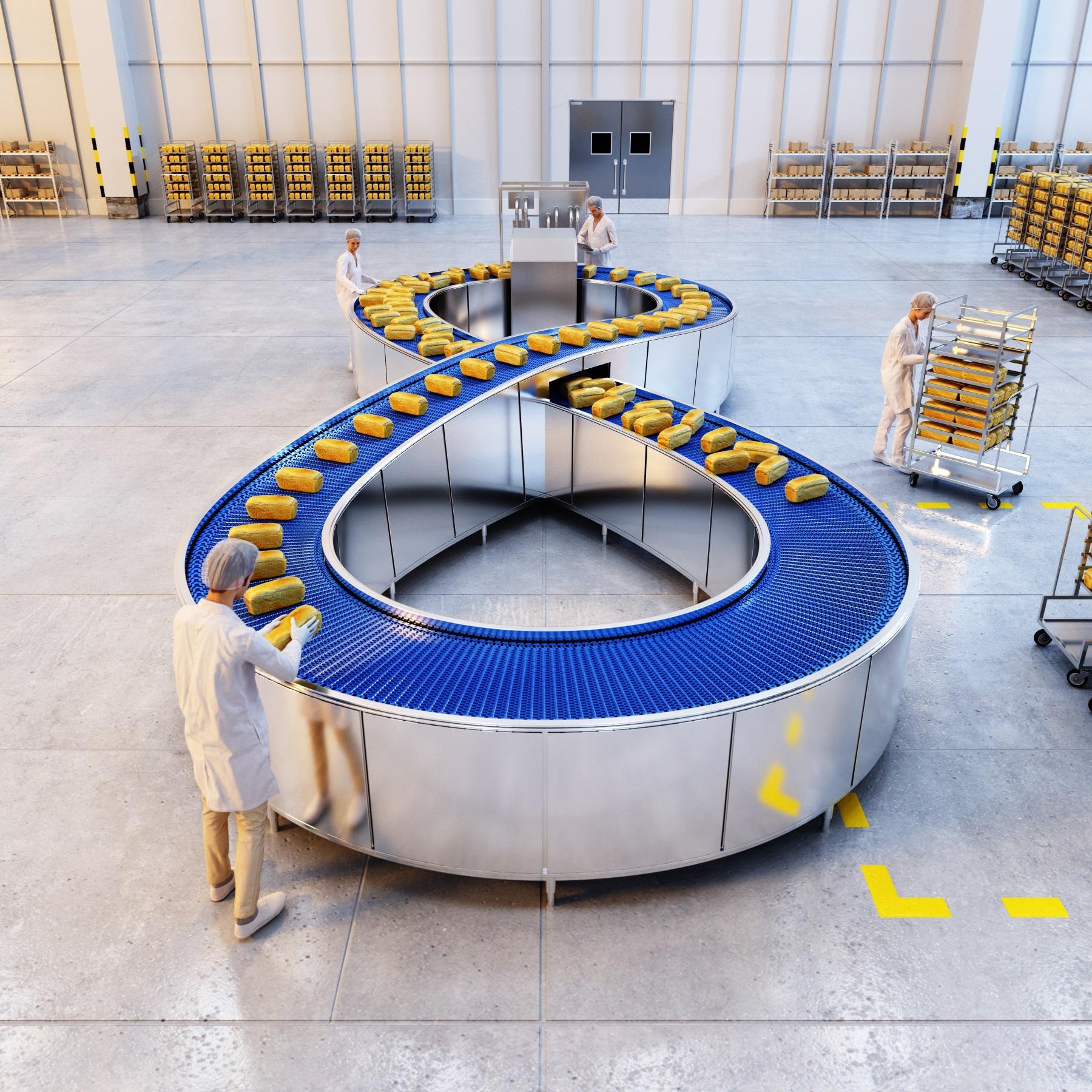 CGI Infinity Conveyor Belt