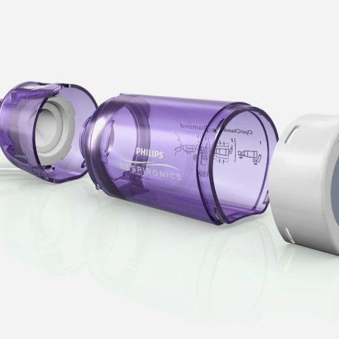 Philips Respironics Optichamber Diamond Product Animation