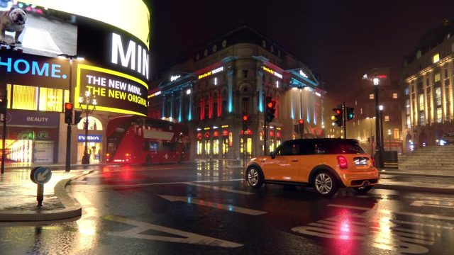 Mini John Cooper Works City Environments Animation