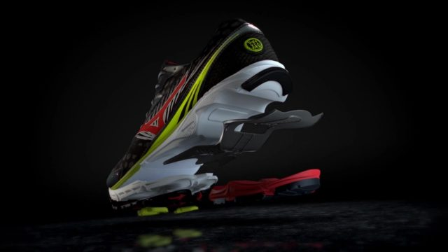 Mizuno Wave Rider 16 Product Animation