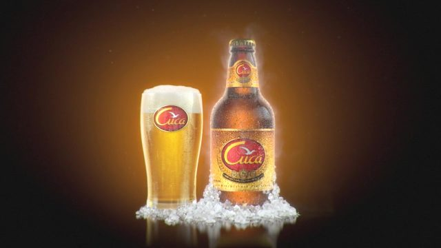 Cuca Cerveja Advertising Animation