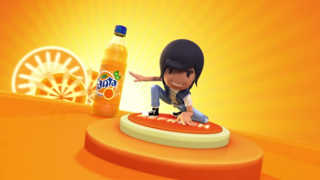 Fanta Online Advertising Animation