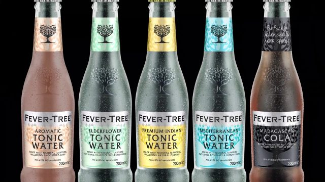 Fever Tree CG Render Bottle Breakdown