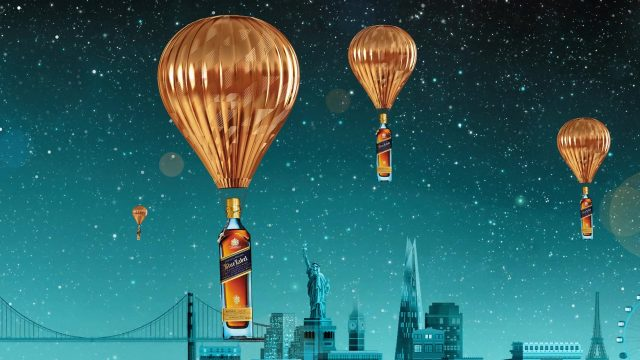 Johnnie Walker Blue Label Campaign For Dufry Melbourne