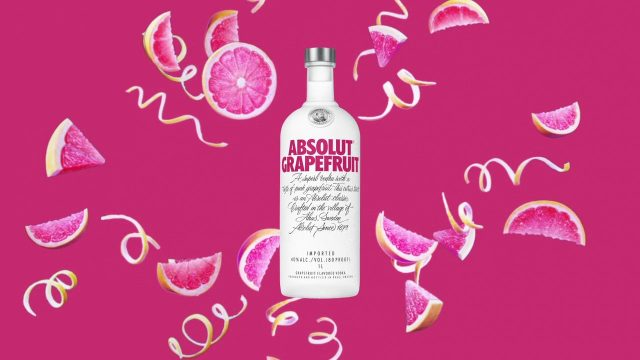 Absolut Grapefruit Vodka Digital Six Sheet