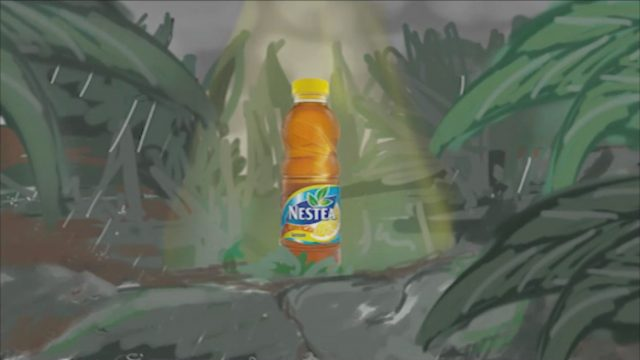 Nestea Advert Previz