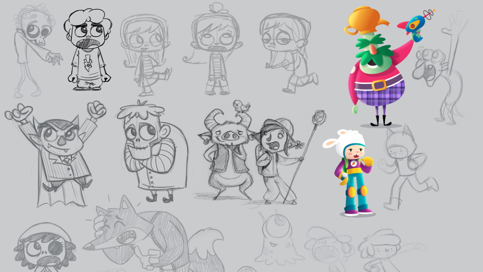 Character design concepts