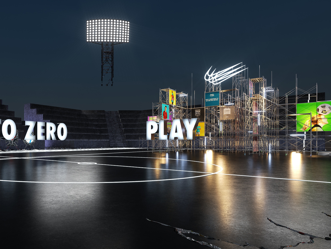 Nike Arena For Extended Experience